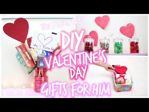 DIY Valentine's Day Gifts For HIM!