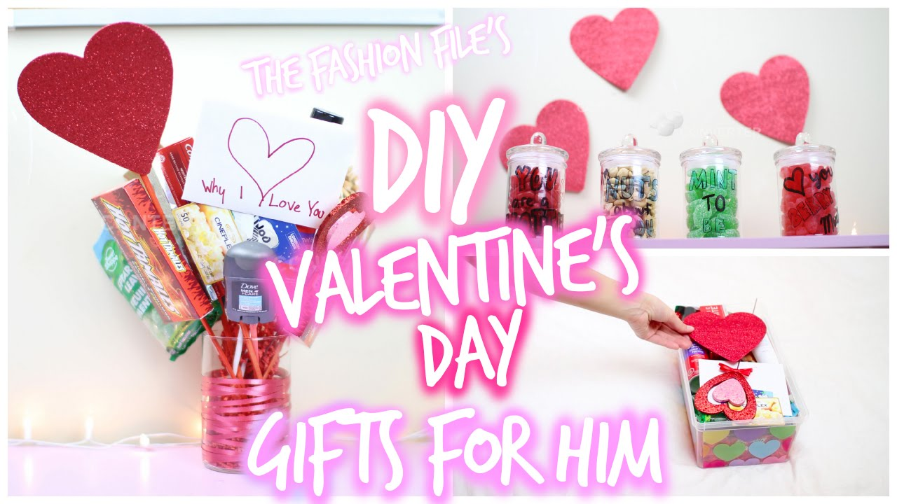 Diy Valentine S Day Gifts For Him Youtube