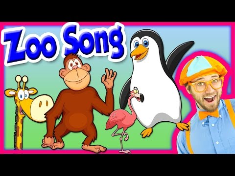 Thumbnail: The Zoo Song – Animal Song for Kids – We're Going to the Zoo – Nursery Rhymes for Toddlers