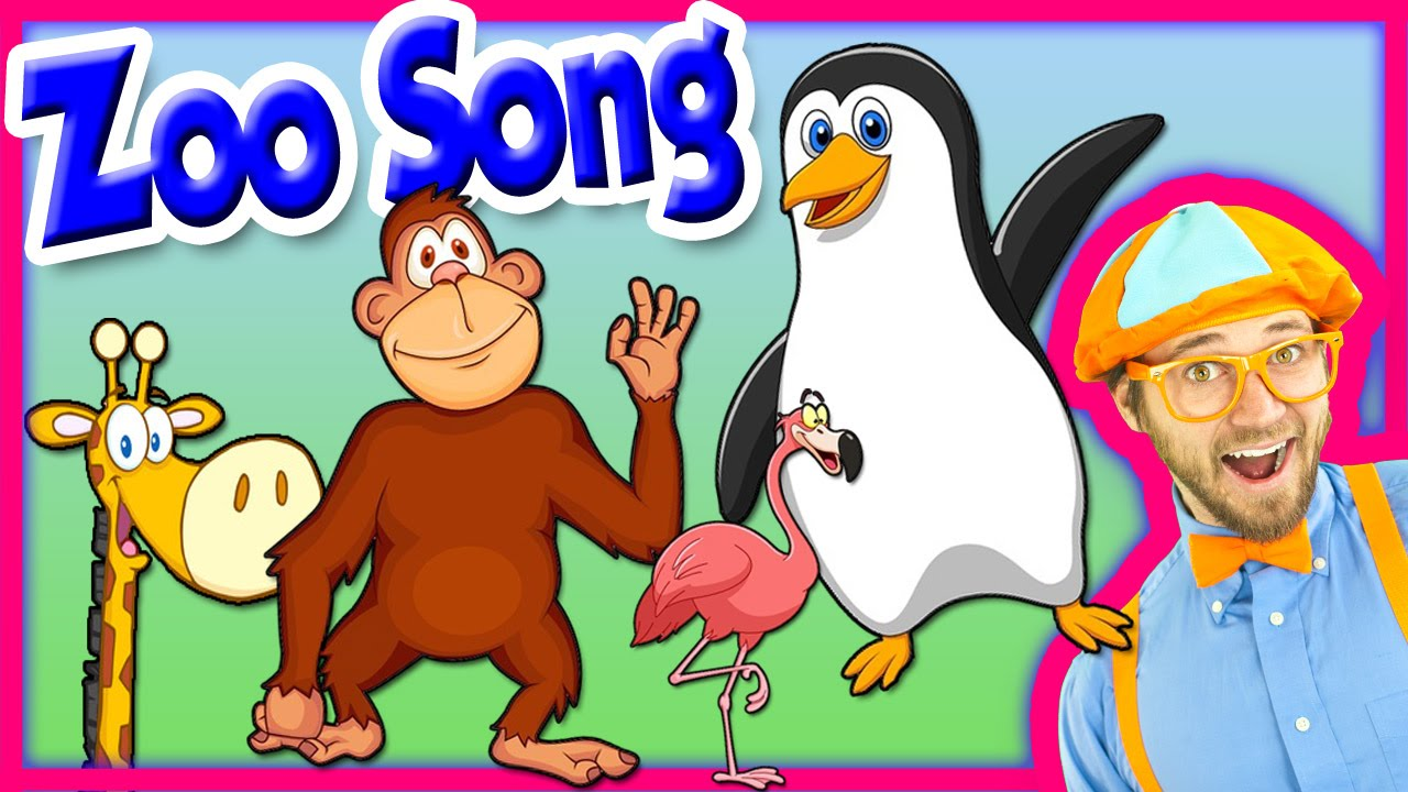 The Zoo Song – Animal Song for Kids – We're Going to the Zoo – Nursery  Rhymes for Toddlers