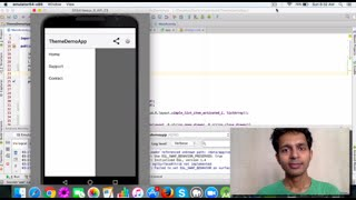 Learn how to use ActionBarDrawerToggle