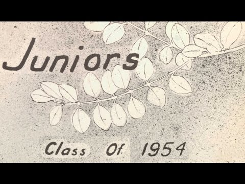 1953 Borger High School Juniors