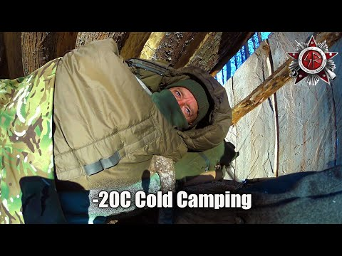 Cold Weather Survival Camping In -20C