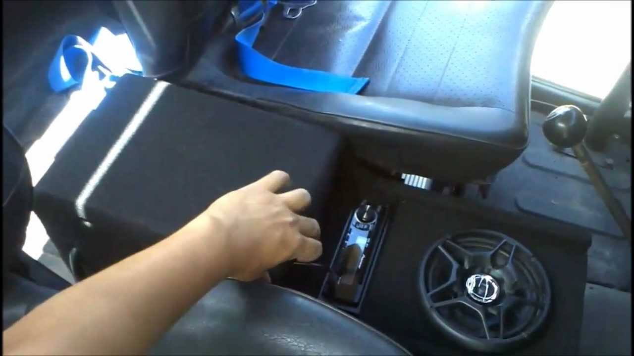 Custom Center Console In A 1971 Toyota Land Cruiser By Xcessive Trends Youtube