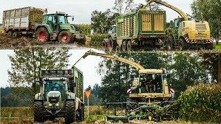 Kukurydza 2017 na dwie sieczkarnie! Wtopy! Usługi Rolnicze Blejk! MGT u Kon3ar !! ☺