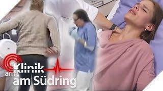 Baby droht zu sterben! Aggressiver Mann stößt Schwangere um! | Klinik am Südring | SAT.1
