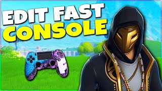 Edit Like A GOD | Fortnite Controller Xbox & PS4 Tips