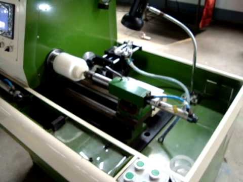 Automatic Vacuum Rubber Washer/Rubber O Ring Cutting Machine - YouTube