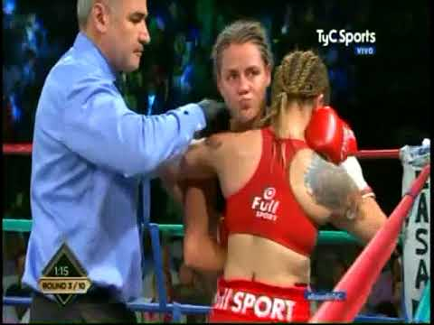 Daniela Bermudez vs. Soledad Frias- WBO Female Bantamweight Title- 10/20/17