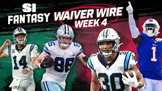 Week 4 Waiver Wire: Top Fantasy Players To Add!