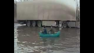 Вот такая рыбалка у нас в Волжском (Волгоградская обл)