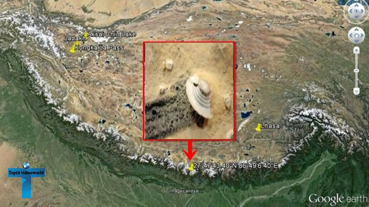 Top 10 Secret Google Earth Places That Will Shock You