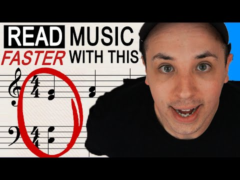 How to Read Music FASTER with this Special Technique
