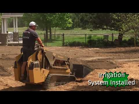 Landscape Make Over With Sod: Landscaping Ideas For Front Of House, Landscaping Ideas & Back Yards