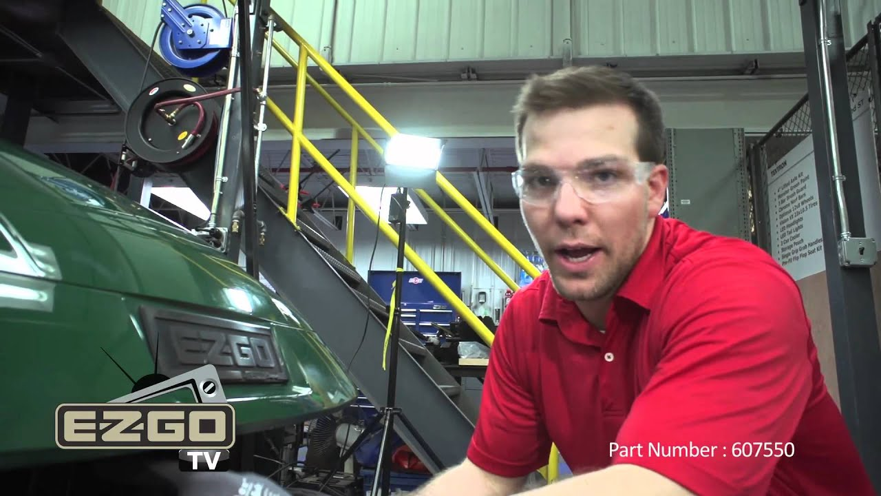 How To Install An E Z Go Txt Personal Transportation Vehicle Ptv Ezgo Wiring Harness Kit Youtube