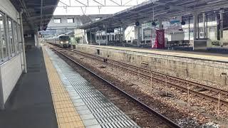 227系普通糸崎止回送 糸崎停車