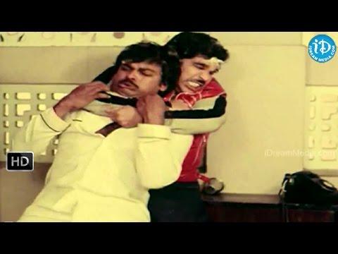 Chantabbai Movie - Allu Aravind, Chiranjeevi Nice Comedy Fight Scene