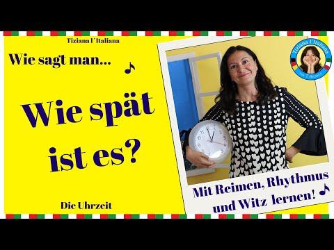 Italienisch Lernen Mit Tiziana L´Italiana - Die Uhrzeit Auf Italienisch!!!