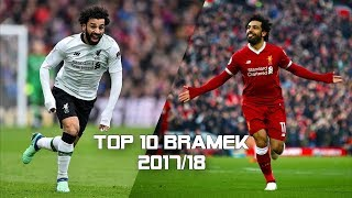 Mohamed Salah - TOP 10 Najpiękniejszych Bramek 2017/18 ᴴᴰ