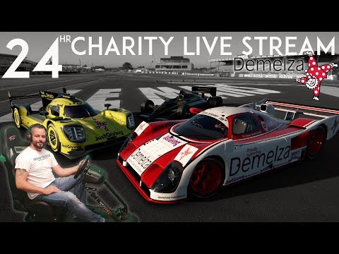 24hr Le Mans Charity Live Stream Update