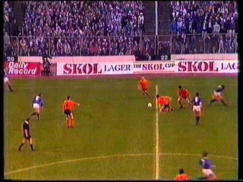 Rangers v Dundee United LCF 28 Oct 1984