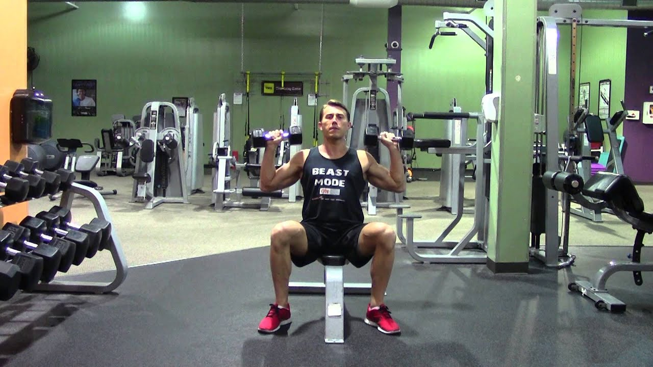 Dumbbell Shoulder Press Or Military