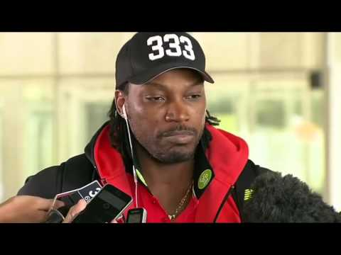 Chris Gayle appologises after Flirting with reporter Mel McLaughlin #DontBlushBaby