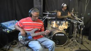 low down boz scaggs live drumz and bass cover