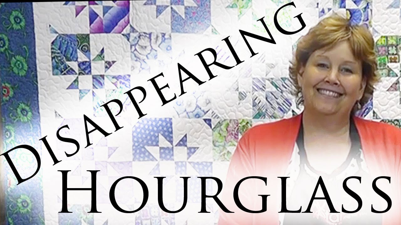 The Disappearing Hourglass Quilt Easy Quilting With Layer