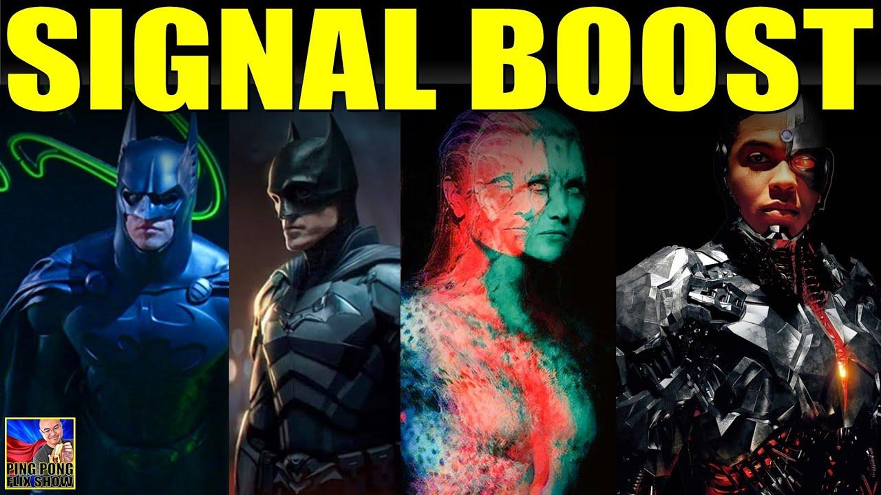 SIGNAL BOOST - Batman Forever Directors Cut, The Batman Spin Off, Cheetah Reveal, New Gods, Borglife