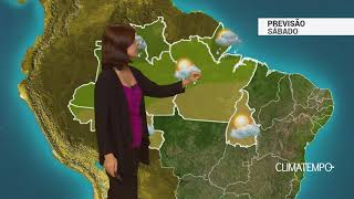 Previsão Norte – Chuva concentrada em RR e AP