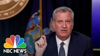New York City Mayor Bill De Blasio Gives A Coronavirus Update | Nbc News Live Stream Recording