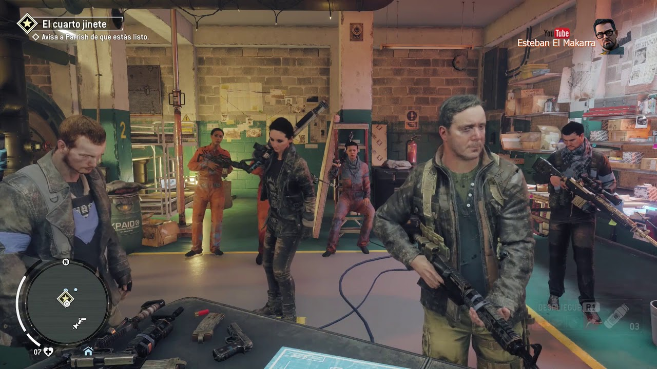 92 El cuarto jinete P2 Homefront The Revolution - YouTube