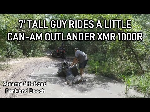 Xtreme Off-Road Park | 7' Tall Guy Rides A Little Can-Am Outlander XMR 1000R
