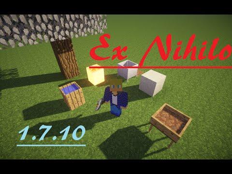 [FR] Présentation De Mod : Ex Nihilo [1.7.10]