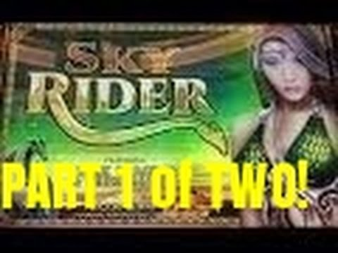 SKY RIDER SLOT MACHINE BONUS AND HITS-PART ONE OF TWO!