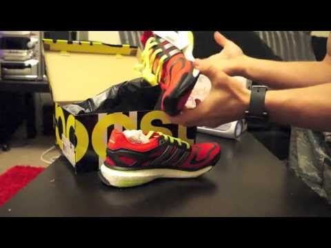 adidas-energy-boost-running-shoe-/-trainer-all-new-unboxing