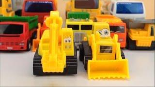各种工程车汽车玩具 推土机吊车挖掘机压路机