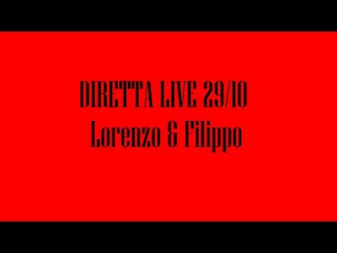 Diretta Live Lorenzo Loreti & Filippo T. Casanova