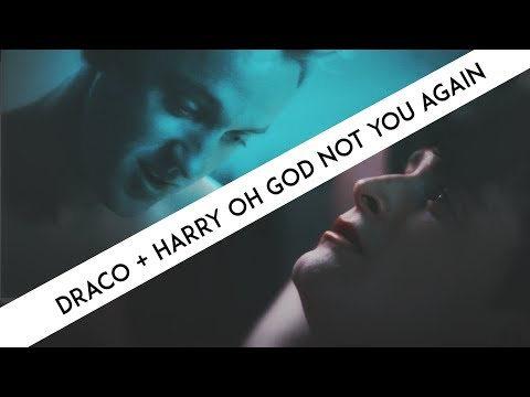 Draco + Harry | Oh God not you again
