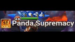 YDCB Summoners War - Fire Panda Fei Xiong Test + INTENSE GUILD WAR