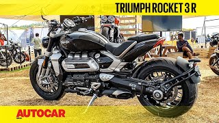 2019 Triumph Rocket 3 R Walkaround : #IBW2019 | First Look | Autocar India