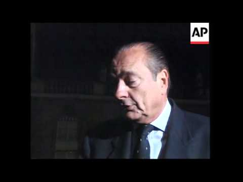 FRANCE: CHIRAC SUPPORTS ITALY IN EXTRADITION ROW