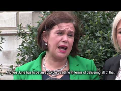 British bluster on hard border must end - Mary Lou McDonald TD