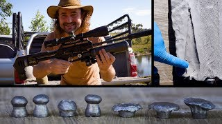 6 Different Airguns vs Blocks of Clay: 12 TO 80 FOOT POUNDS! (and a little surprise)