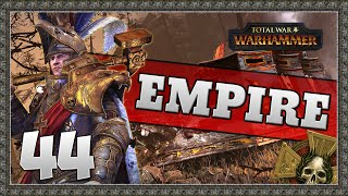 THE BATTLE FOR GHAL MARAZ! Total War: Warhammer - Empire Campaign #44
