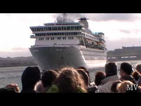 Cruise Liners in Cork Harbour