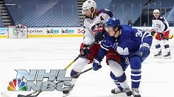 NHL Stanley Cup Qualifying Round: Blue Jackets vs. Leafs | Game 5 EXTENDED HIGHLIGHTS | NBC Sports