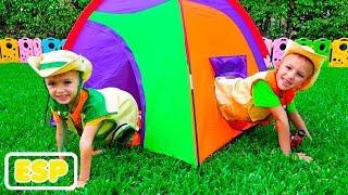 Vlad y Nikita nuevas aventuras de camping