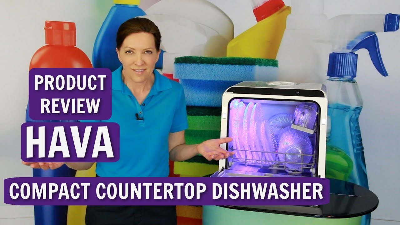 HAVA Compact Countertop Dishwasher Product Review